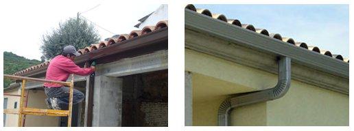 Montaje canalones tejados servicios montaje canalones tejados for Tejados de chapa