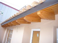 Tejados de madera barcelona reparaci n for Tejados de madera modernos